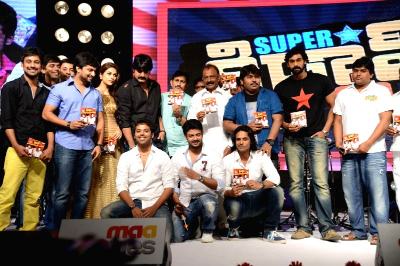 Telugu film Super Star Kidnap audio release function held at Hyderabad on Sunday 13th July.