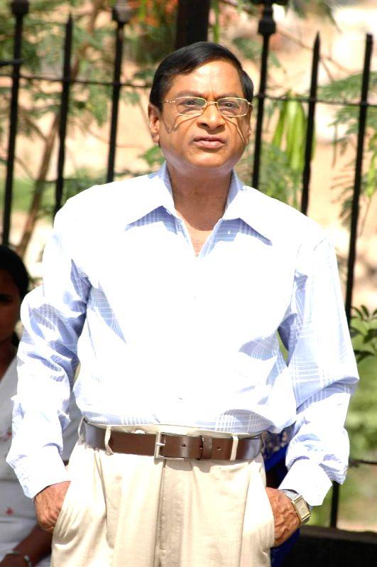 Telugu movie Actor `MS Narayana` stills.