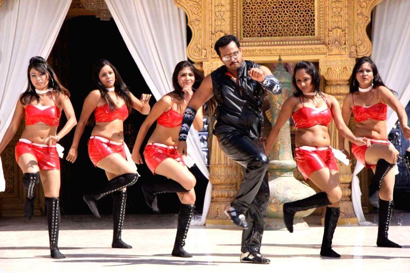 Telugu Movie `Aggiravva` Stills.