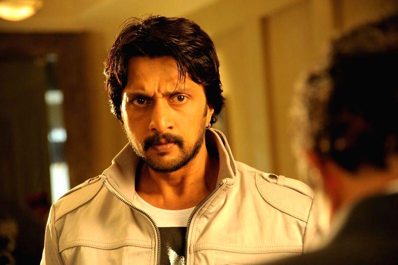 Telugu movie Bachchan stills.