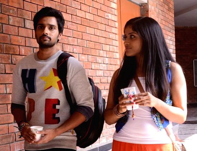 Telugu movie `Chakiligintha` stills.