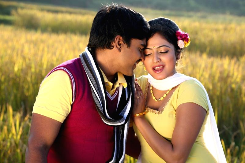 Telugu movie `Galata` stills.