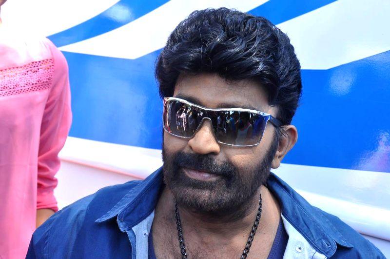Telugu movie `Gang` launch.