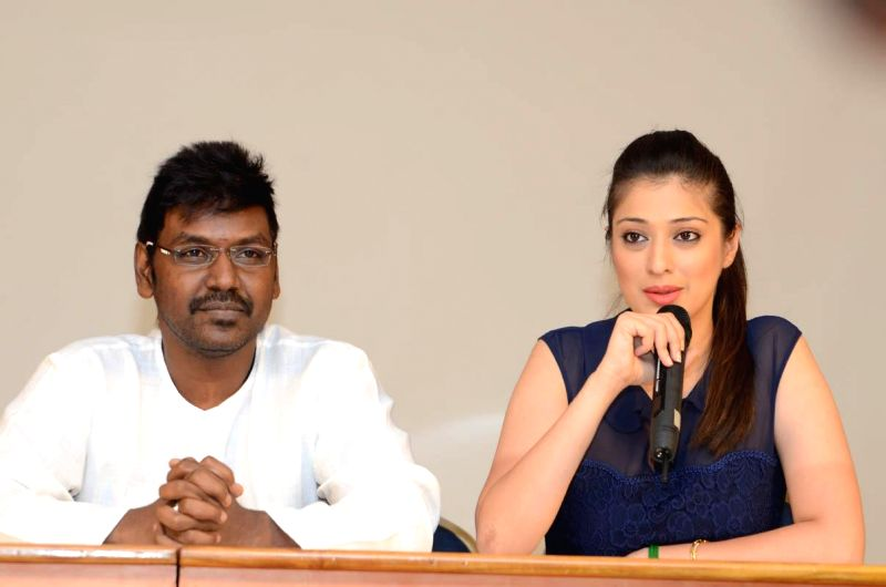Telugu movie `Ganga` press meet.