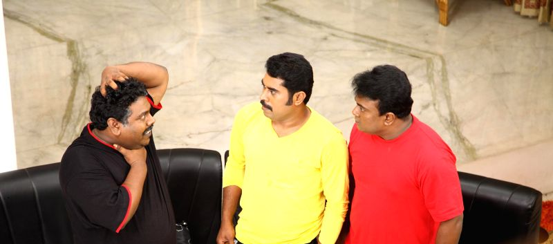 Telugu movie `Garbhashreeman` stills.