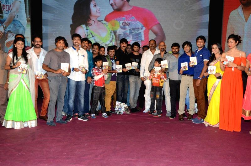 Telugu movie ``Green Signal`` audio release function held at Rock Heights of Hyderabad on 18th April.