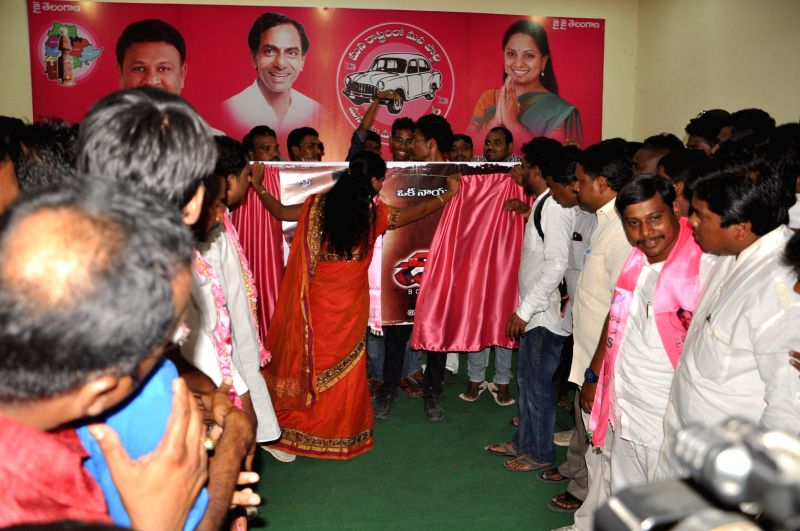 Telugu movie `Gulabi Dalapathi teaser launch` stills.