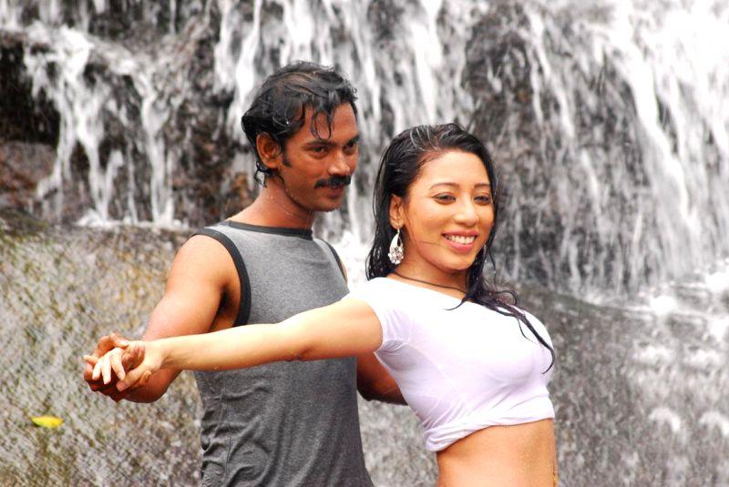 Telugu movie `Jabalí` stills.