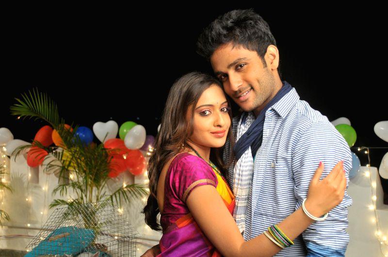 Telugu movie `Nenu Naa Friends` stills.