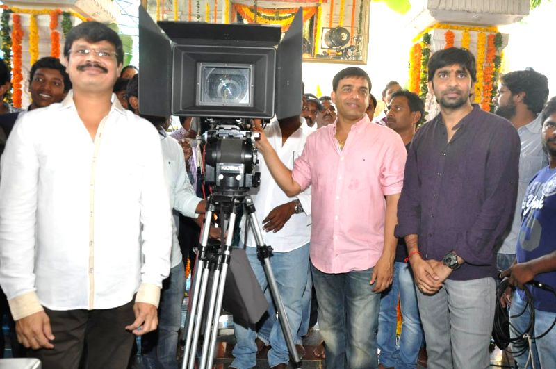 Telugu movie `Pandaga Chesko` launched.