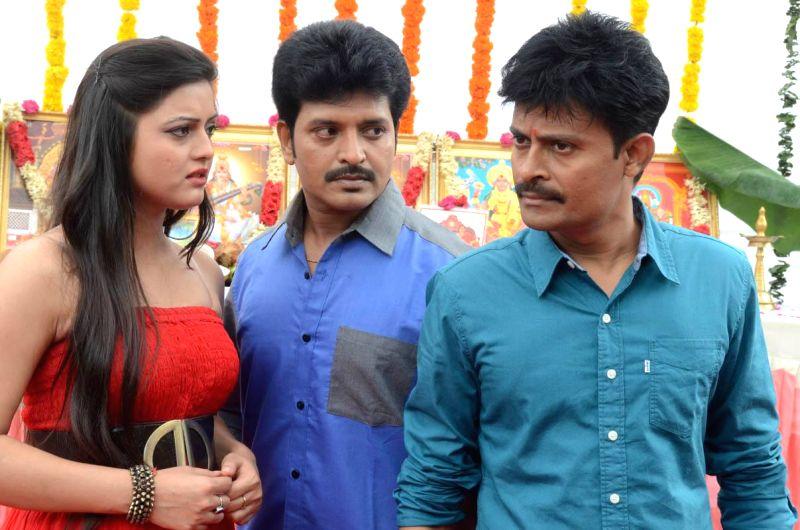 Telugu movie `Paradise` muhurath.