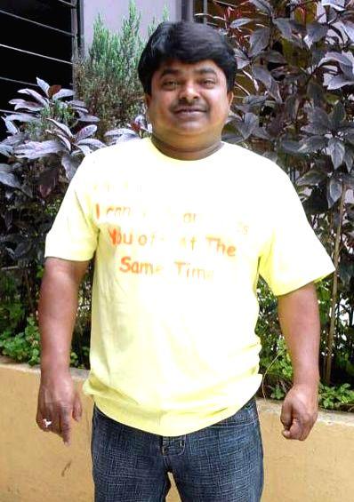Telugu movie `Puli Raj IPS` pooja.