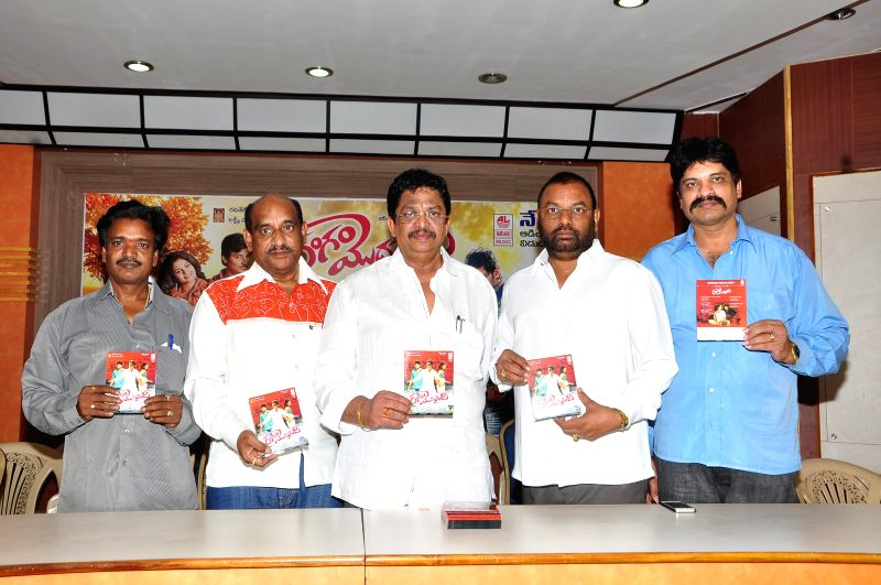 Telugu movie `Rangam Modadayyindi` audio release.