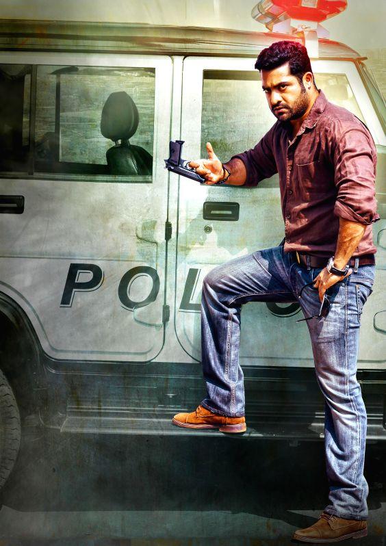 Telugu movie `Temper` first look.