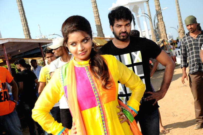 Telugu movie `Vadacurry` stills.