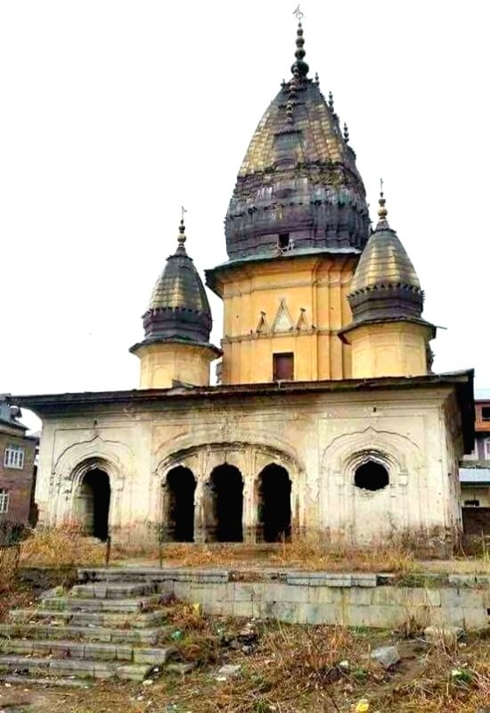 Temple renovation in Kashmir after 3 decades to be completed soon.