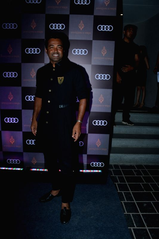 Tennis player Leander Paes at Shantanu and Nikhil's store launch, in Mumbai on Dec 6, 2018.