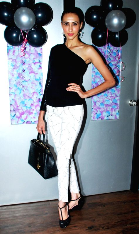 Super Model Alesia Raut during launch of Glow Studio Salon and Spa beauty salon in Thane, on March, 01, 2015. - Alesia Raut