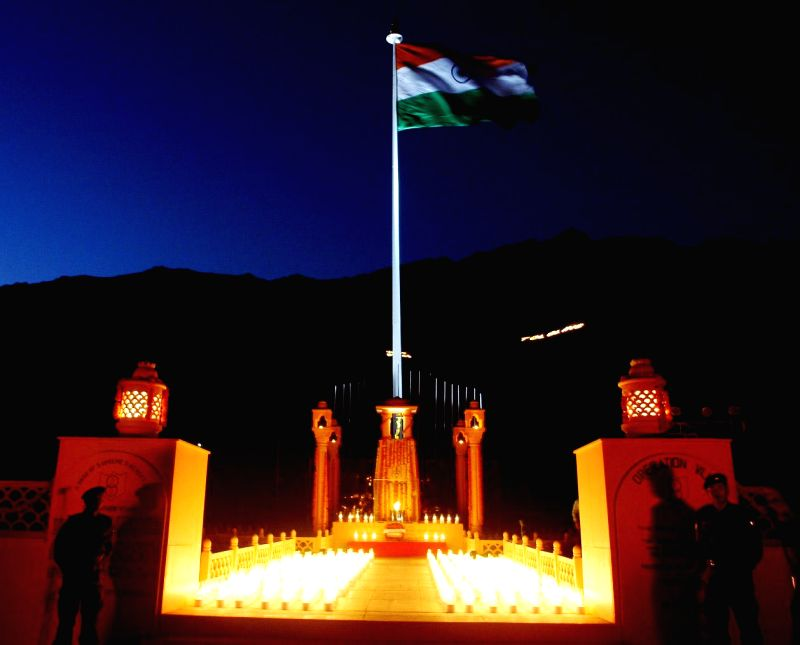 The 15th `Kargil Vijay Diwas` celebrations culminated in Dras (J&K) on July 26, 2014.