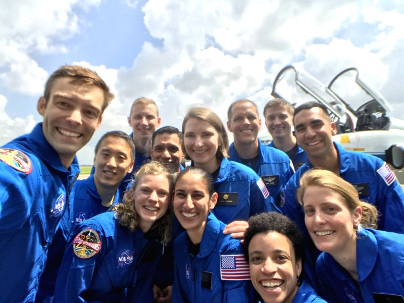 The astronaut class of 2017. (Photo: Courtesy, NASA)