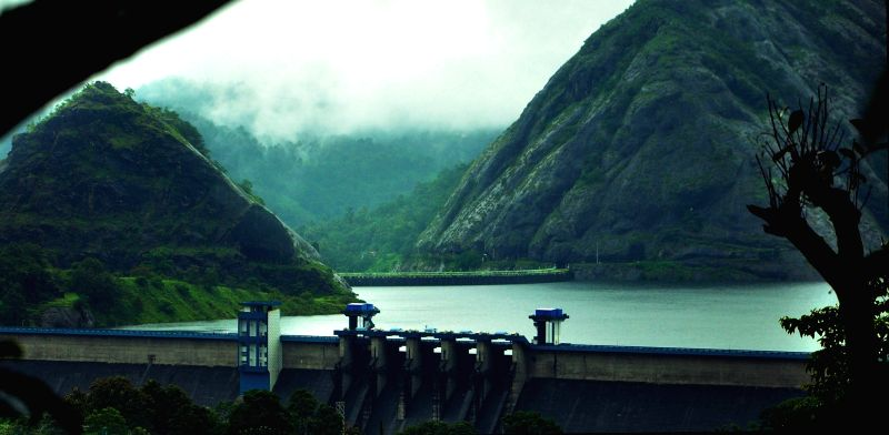 The authorities in Kerala have issued orange alert after water level in the Idukki dam touched 2,395 feet mark on July 31, 2018. One of the highest dams in Asia, it is  a double curvature, ...