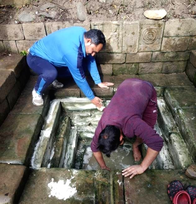 The Bowlis are back: How Udhampur residents are reclaiming their natural springs.