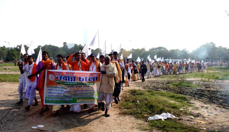 South 24 Parganas Bramhins demonstration