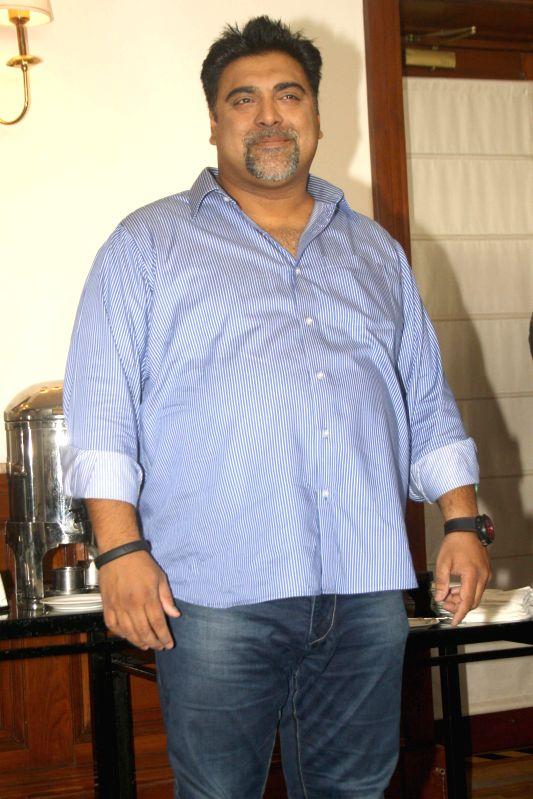The cast of film Humshakals Ram Kapoor during a press meet in New Delhi on 16 June 2014. - Humshakals Ram Kapoor