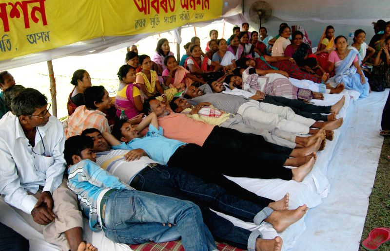 The condition of the members of Krishak Mukti Sangram Samiti (KMSS) who are on 6th day of indefinite Strike has been deteriorated, they are protesting against revenue department's decisions to ...