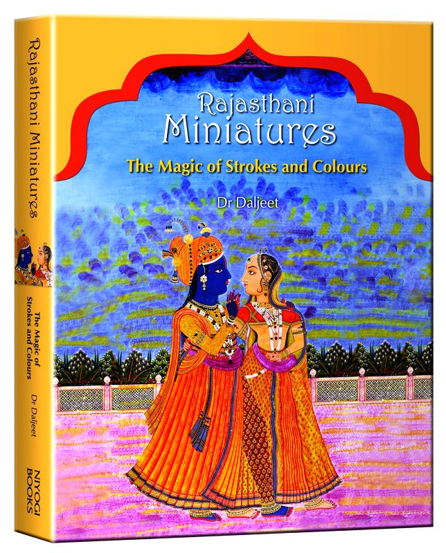 The cover of Rajasthani Miniatures.