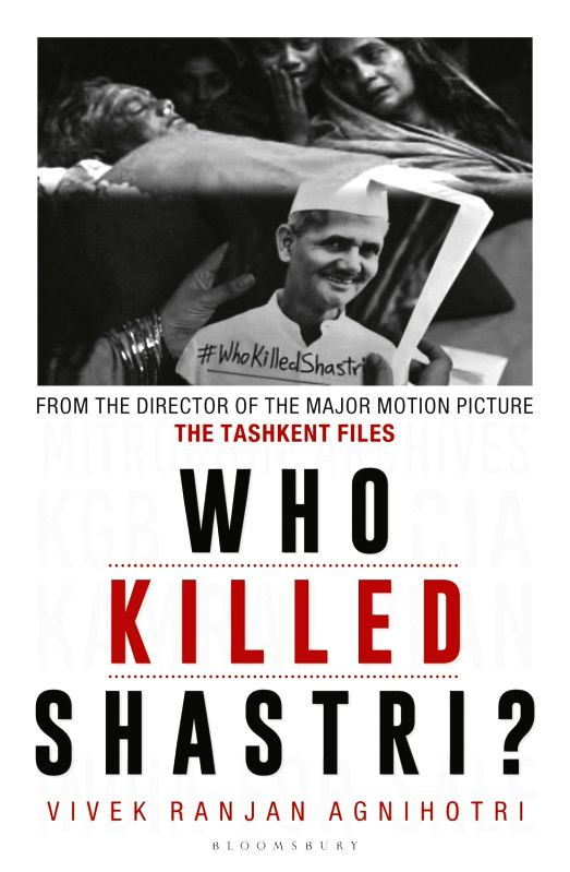 "The cover of the book ""Who Killed Shastri""."