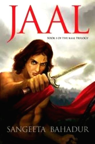 The cover of the novel. Jaal, by the director of The Nehru Centre in London.