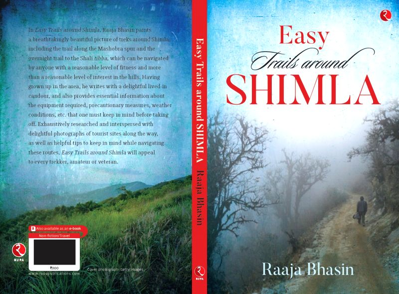 The cover page of book ?Easy Trails Around Shimla? written by
