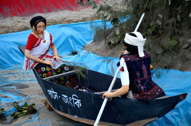 The Desang Brahmaputra festival at Desangmukh in Sivasagar district of Assam on Jan 3, 2015.