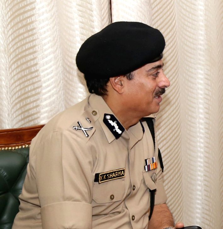 The Director General, Border Security Force, K.K. Sharma. (File Photo: IANS) - K. Sharma