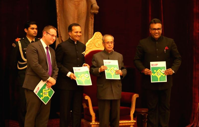 The first copy of the Times Higher Education BRICS and Emerging Economies 2016 Rankings were presented to President Pranab Mukherjee at Rashtrapati Bhavan in New Delhi on December 2. - Pranab Mukherjee