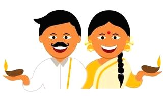 The first ever emoji for Puthandu and Vishu will go live on April 14 at 9 am and will be available until April 15.