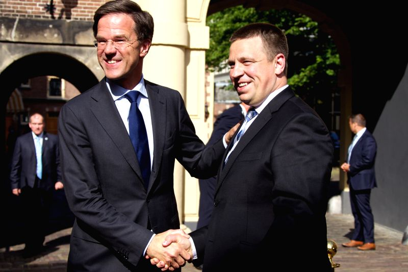 Maurits Hendriks Netherlands Prime Minister Mark Rutte L: THE NETHERLANDS-THE HAGUE-RUTTE-MEETING