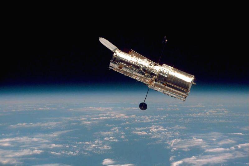 The Hubble Space Telescope. (Photo Courtesy: NASA)