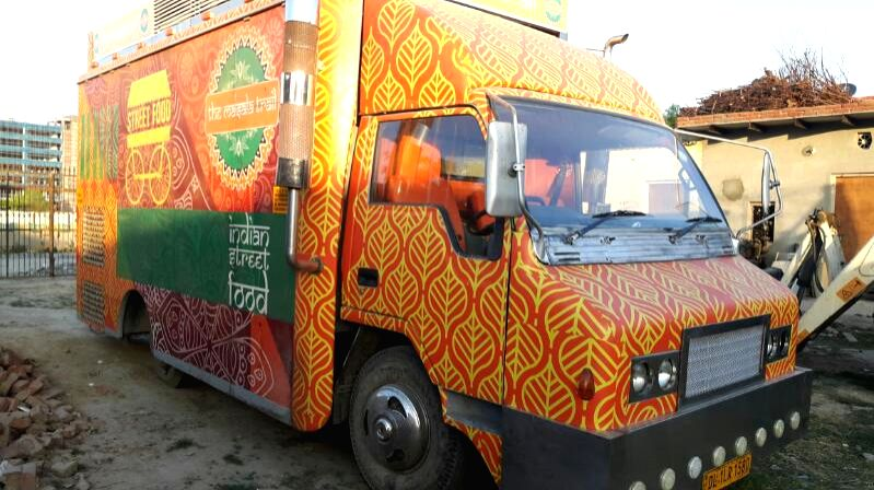 The Masala Trail food Truck.