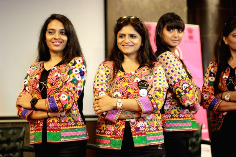 The members of the Biking Queens Sarika Mehta, Durriya M Tapia, Yugma Desai and Khyati N Desai. - Yugma Desai and Khyati N Desai