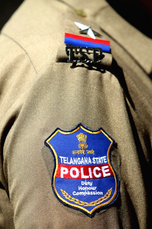 The new logo of Telangana State Police which will be used on all Police vehicles and uniforms.