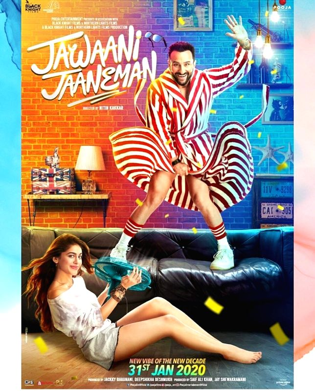 The new poster of Saif Ali Khan-starrer