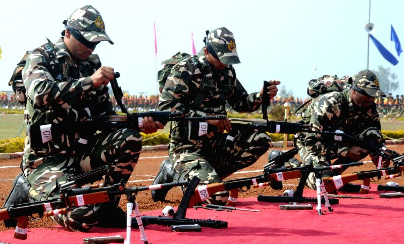 Central Armed Police Force Passing Out Parade-9277