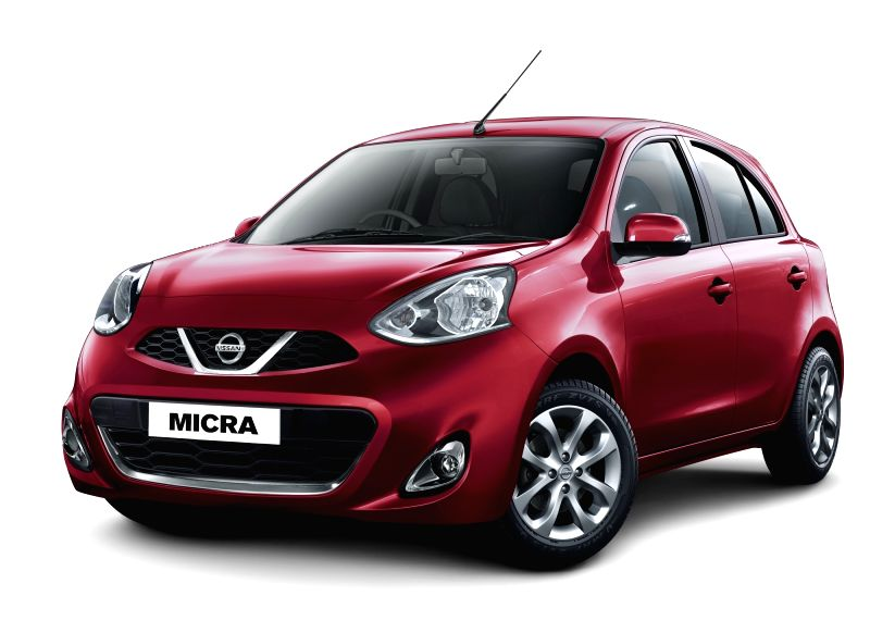 The newly launched 2018 version of Nissan Micra. The newly introduced features include Dual Airbags, Speed warning device, Speed-sensing Door Lock and Driver Seat Belt Reminder Speed warning device, ...