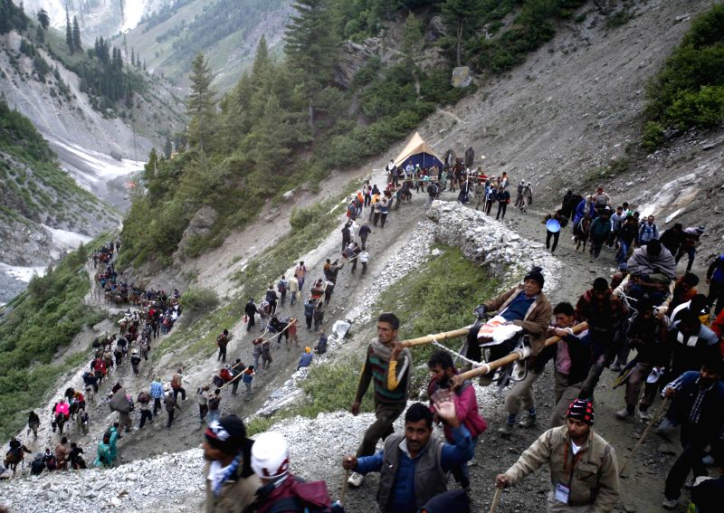 The one-and-a-half month-long annual Amarnath Yatra in Jammu and Kashmir comes to an end after the final 'puja' was offered inside the Amarnath cave shrine on Aug 10, 2014. Nearly 400,000 pilgrims ...
