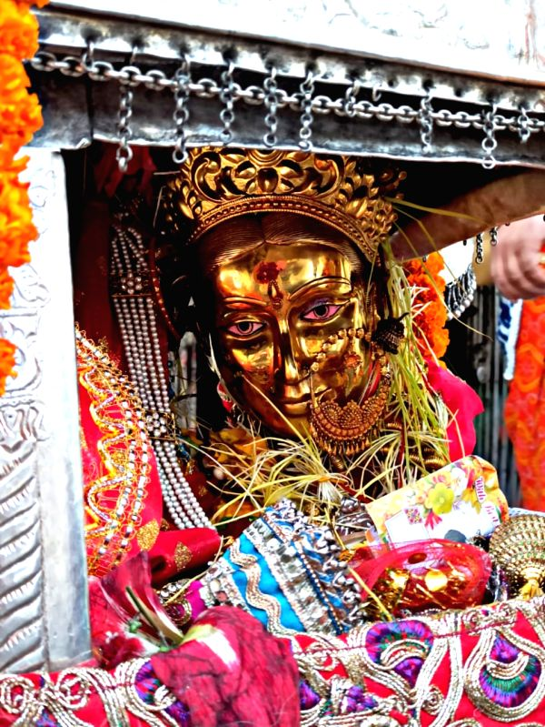 The portals of Gangotri dham in Uttarakhand opened today, Due to Covid protocols, only the priests, teerth purohits and district administration officials participated in the opening pooja.