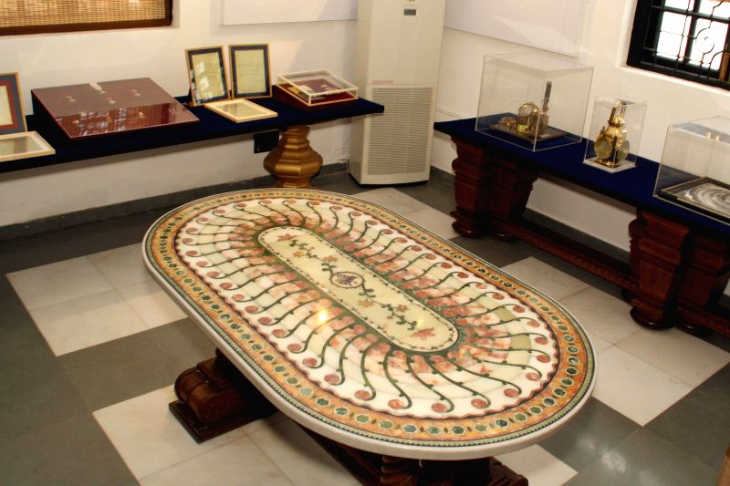 The preview of the new Rashtrapati Bhavan Museum at Rashtrapati Bhavan in New Delhi on July 24, 2014.