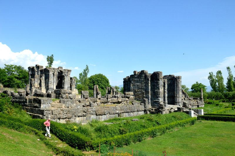 4. The ruins of Martand Sun Temple at Kherbal village in Anantnag