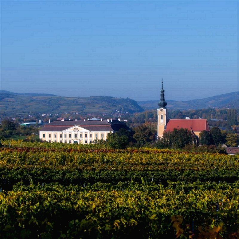 The Schloss Gobelsburg winery in Austria's Danube region